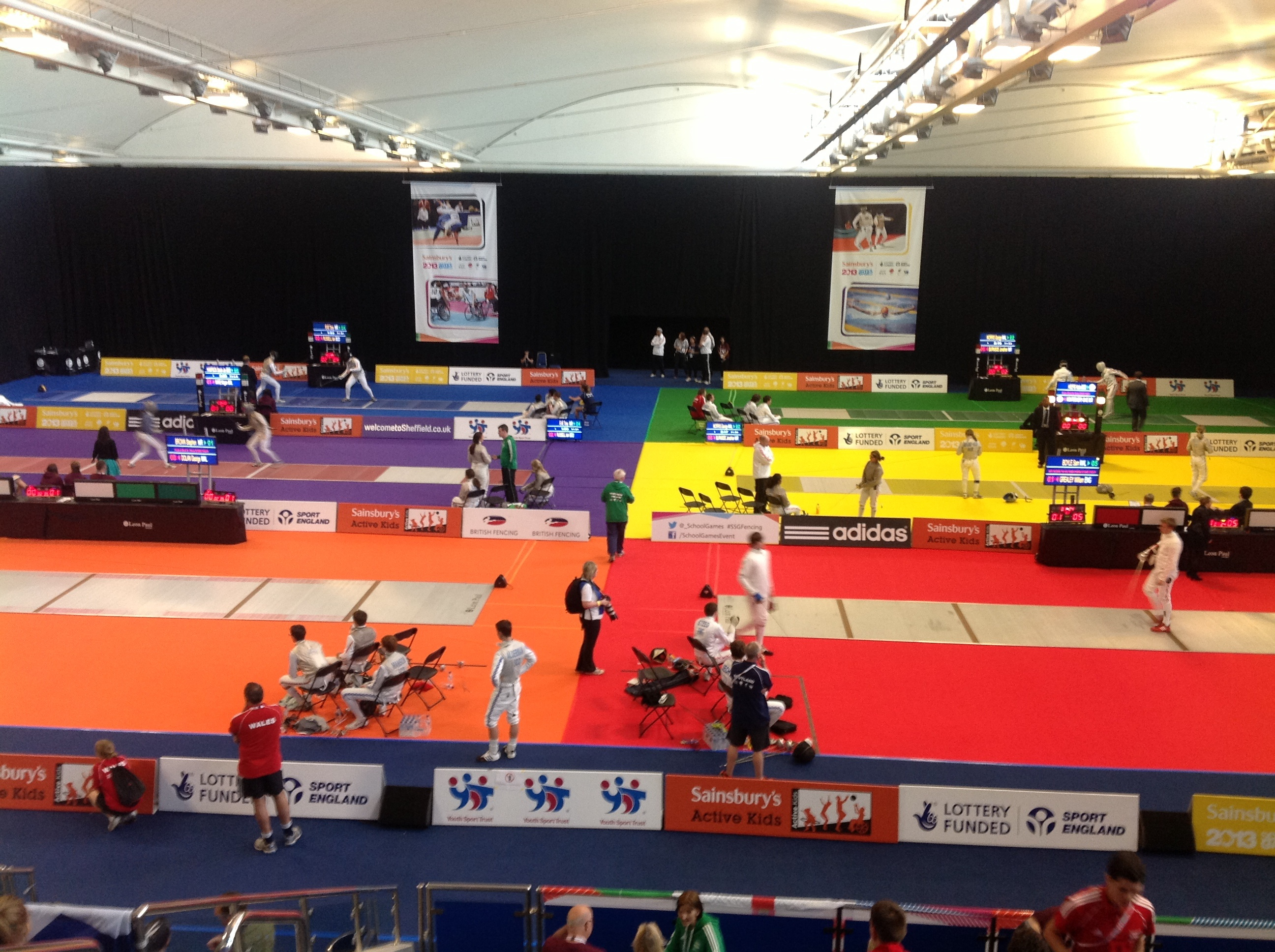 Aspects Of The International Competitive Circuit That Us Can Learn About Venue For 2013 Uk School Games